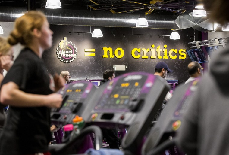 A new location for Planet Fitness, a low cost gym chain, in Toronto, Canada, Jan. 7, 2015.