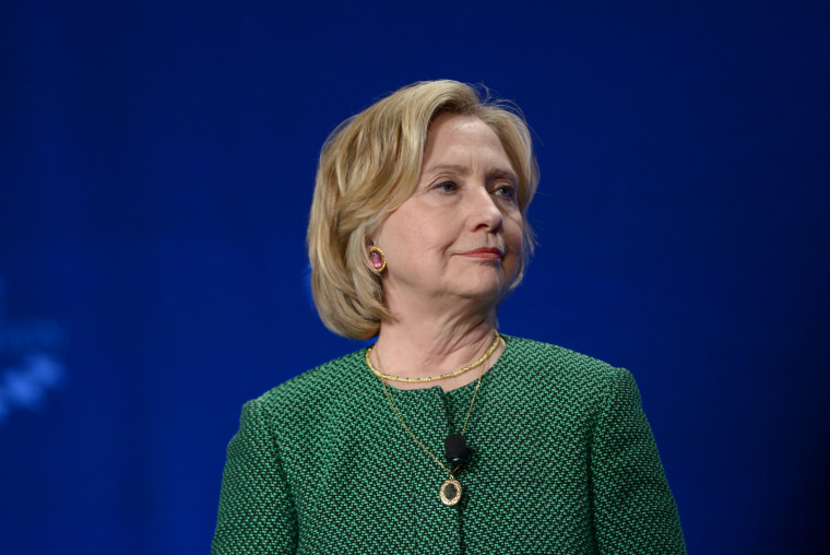 Former US Secretary of State and US Senator Hillary Clinton speaks at the 2015 Meeting of Clinton Global Initiative University at University of Miami on March 7, 2015 in Miami, Fl. (Photo by Rodrigo Varela/Getty)