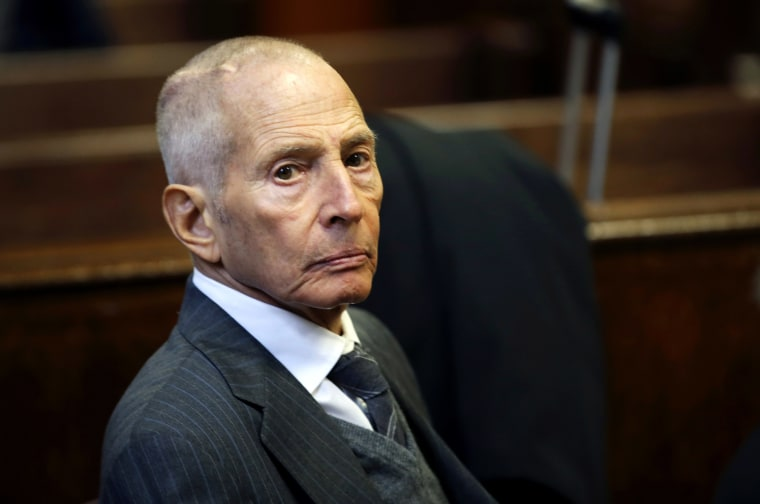 Real estate heir Robert Durst appears in a criminal courtroom for his trial on charges of trespassing on property owned by his estranged family, in New York Dec. 10, 2014. (Photo by Mike Segar/Reuters)