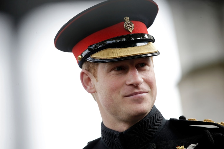 Britain's Prince Harry visits the Field of Remembrance at Westminster Abbey, in central London on Nov. 6, 2014. (Photo by Matthew Lloyd/Pool/Reuters)