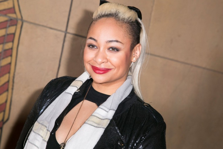 "Actress Raven-Symone attends the Outfest 2015 Fusion Gala screening and Q&A of ""Empire"" at American Cinematheque's Egyptian Theatre on March 13, 2015 in Hollywood, Calif."