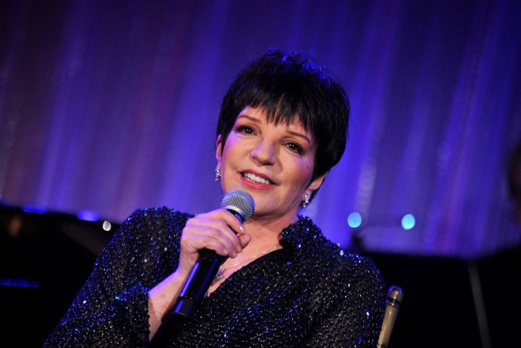 Liza Minnelli performing in New York City in 2012.