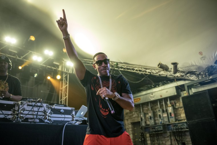 Ludacris performing at Stubbs for the Media Temple Interactive closing party at South by Southwest on March 17, 2015 in Austin, Texas. (Photo by Merrick Ales/FilmMagic via Getty)