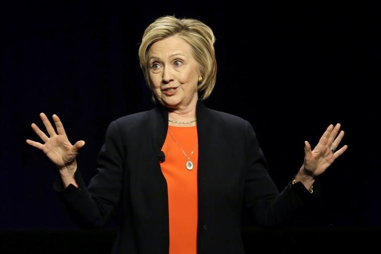 Hillary Rodham Clinton (Photo by Mel Evans/AP)