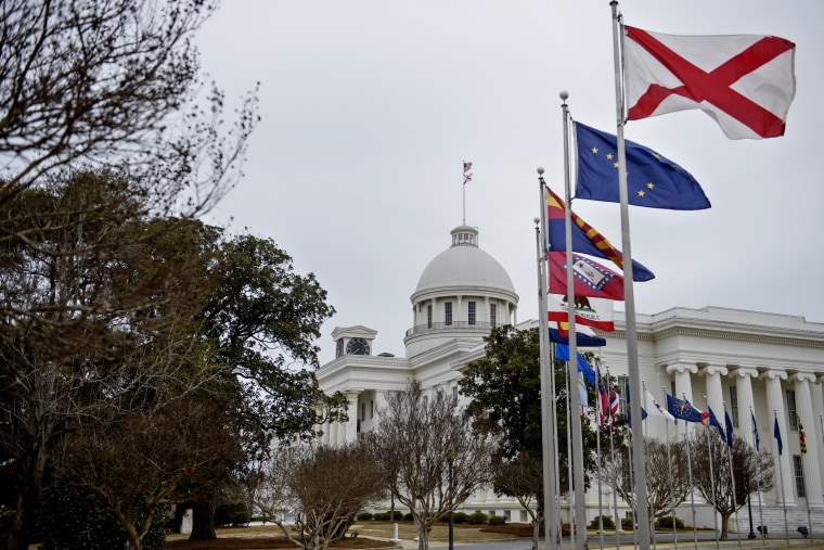A view of the state capitol on March 6, 2015 in Montgomery, Ala. (Photo by Brendan Smialowski/AFP/Getty)