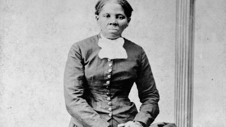 This circa 1860-75 photo made available by the Library of Congress shows Harriet Tubman.