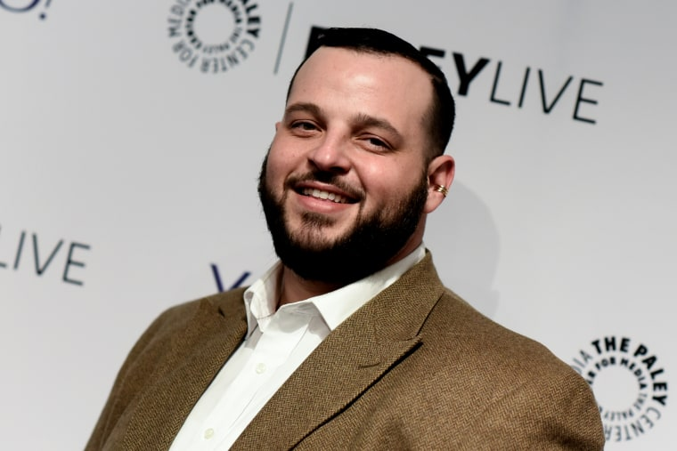 "Daniel Franzese arrives at The Paley Center For Media Presents An Evening With HBO's ""Looking"" on Feb. 25, 2015, in Beverly Hills, Calif. (Photo by Richard Shotwell/Invision/AP)"