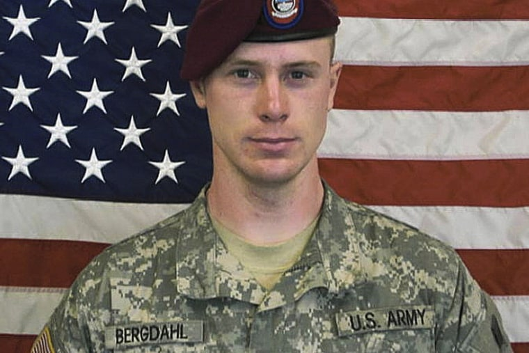 This undated image provided by the U.S. Army shows Sgt. Bowe Bergdahl. (Photo by US Army/AP)