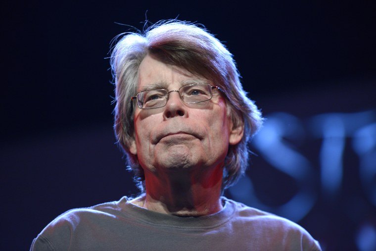 American writer Stephen King is seen during an event on Nov. 16, 2013 in Paris, France. (Photo by Ulf Andersen/Getty)