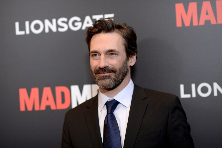 """Jon Hamm attends the """"Mad Men"""" New York Special Screening at The Museum of Modern Art on March 22, 2015 in New York City."""