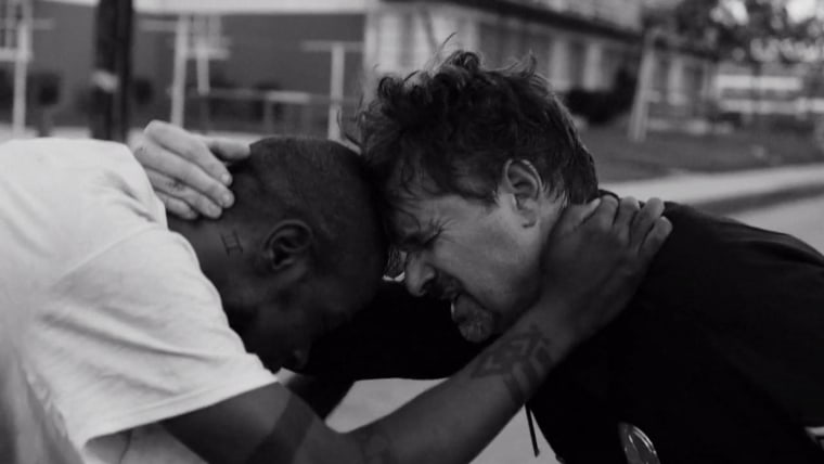 """Screen shot from """"Close Your Eyes,"""" by Run the Jewels and AJ Rojas. (Photo courtesy of Run the Jewels)"""