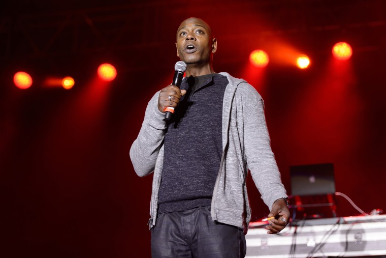 Dave Chapelle performs in Chicago in 2014.