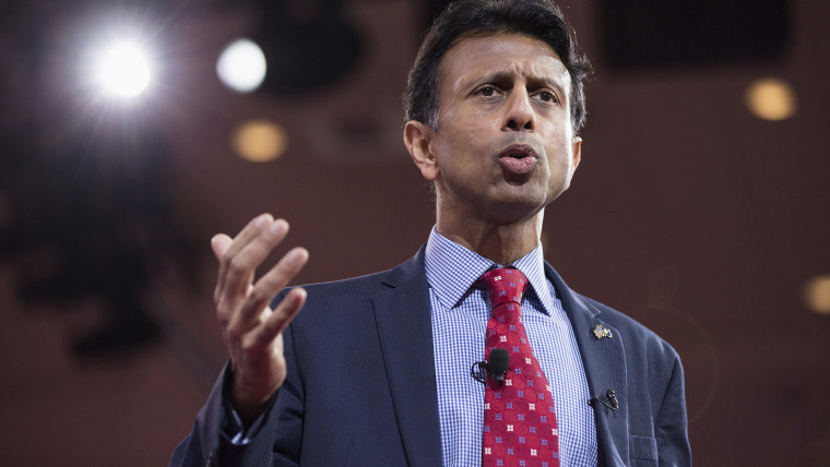 Governor Bobby Jindal (R-LA) arrives to speak at the 42nd annual Conservative Political Action Conference (CPAC) at National Harbor, Maryland on Feb. 26, 2015. (Photo by Joshua Roberts/Reuters)
