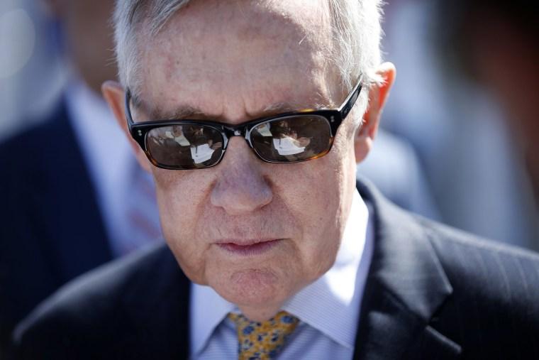 Harry Reid (Photo by John Locher/AP)