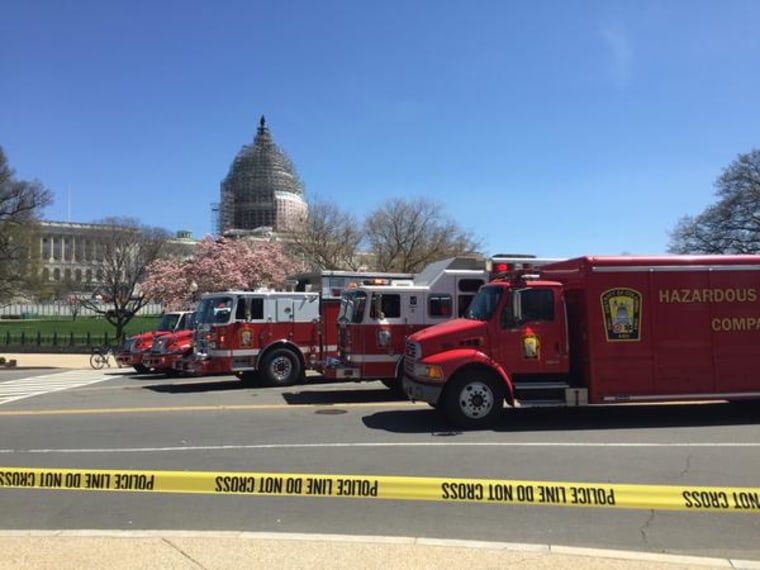 The US Capitol building, April 11, 2015. (Photo courtesy of Caroline McCain)