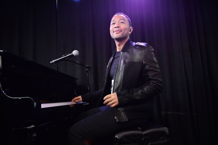 Singer John Legend performs onstage during an event on March 21, 2015 in Austin, Texas. (Photo by Scott Dudelson/Getty)