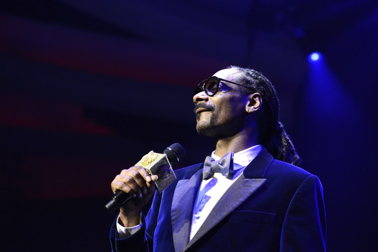 Snoop Dogg performs at an event at the Hollywood Palladium on Feb 5, 2015, in Hollywood, Calif. (Photo by Dan Steinberg/Invision for Levi's/AP)