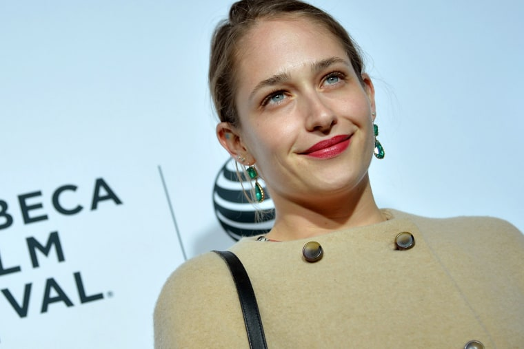 Actress Jemima Kirke at the 2014 Tribeca Film Festival on April 16, 2014 in New York City. (Photo by Andrew H. Walker/Getty)