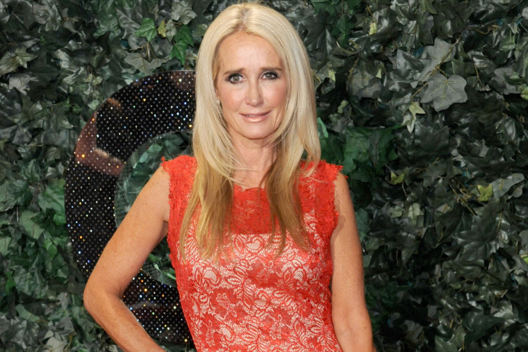 Actress/TV personality Kim Richards arrives at an event on Feb. 22, 2013 in Beverly Hills, Calif. (Photo by Gregg DeGuire/WireImage/Getty)