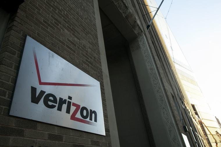 The Verizon building in New York.