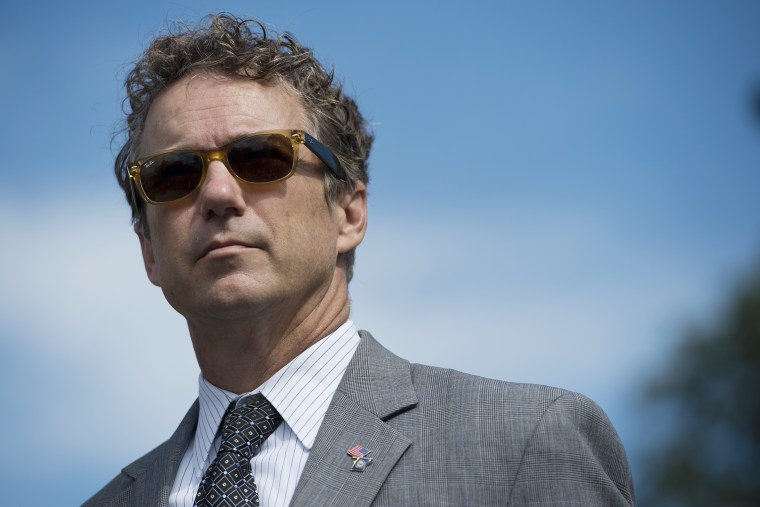 Sen. Rand Paul (Photo by Bill Clark/CQ Roll Call/Getty)