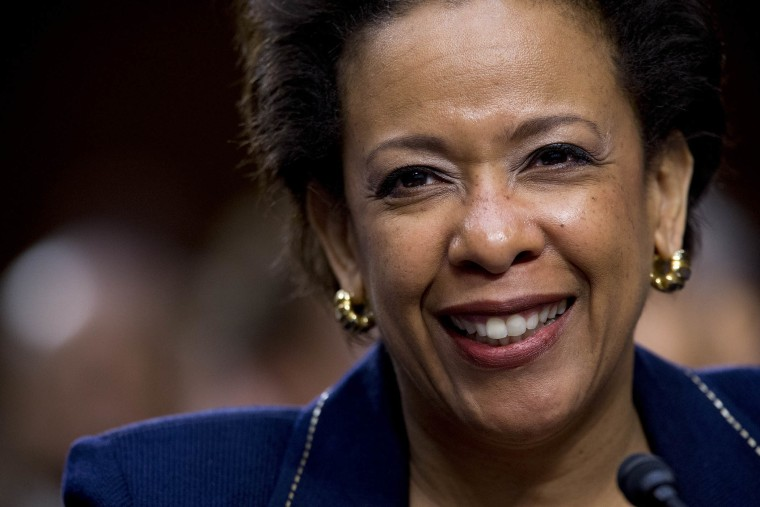 Senate Judiciary Committee Holds Nomination Hearing For Loretta Lynch To Be Attorney General (Photo by Andrew Harrer/Bloomberg/Getty)