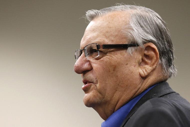 Joe Arpaio (Photo by Ross D. Franklin/AP)