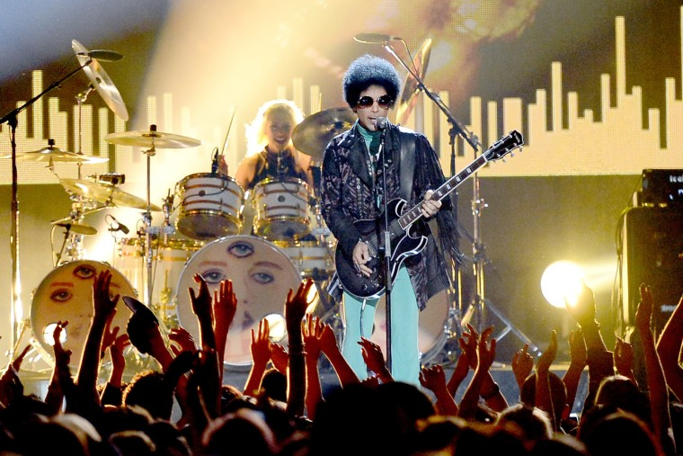 Musician Prince performs onstage during the 2013 Billboard Music Awards at the MGM Grand Garden Arena on May 19, 2013 in Las Vegas, Nevada. (Photo by Ethan Miller/Getty)