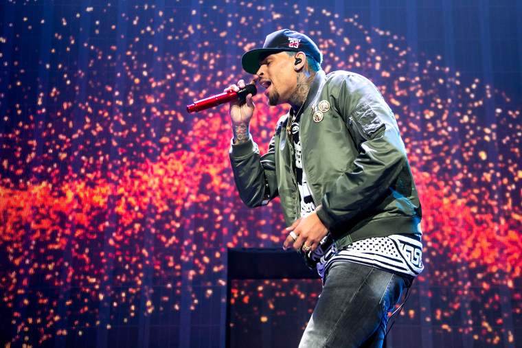 Chris Brown performs on Feb. 15, 2015 in Detroit, Mich. (Photo by Scott Legato/Getty)