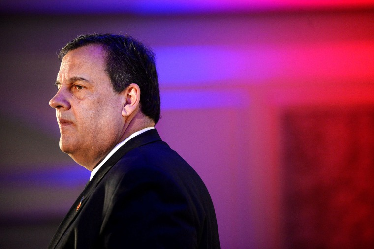 New Jersey Governor Chris Christie speaks at an event on May 1, 2015 in McLean, Va. (Photo by Olivier Douliery/Getty)