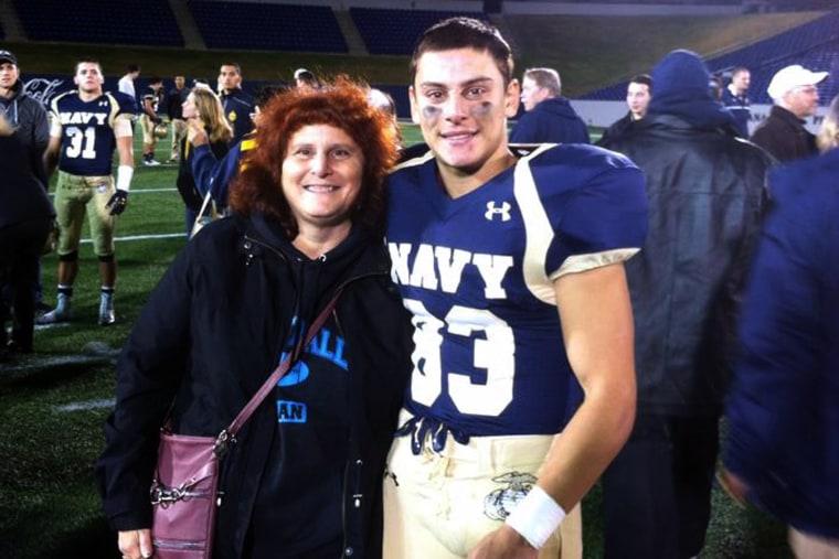 Justin Zemser photographed alongside his mother, Susan Zemser.