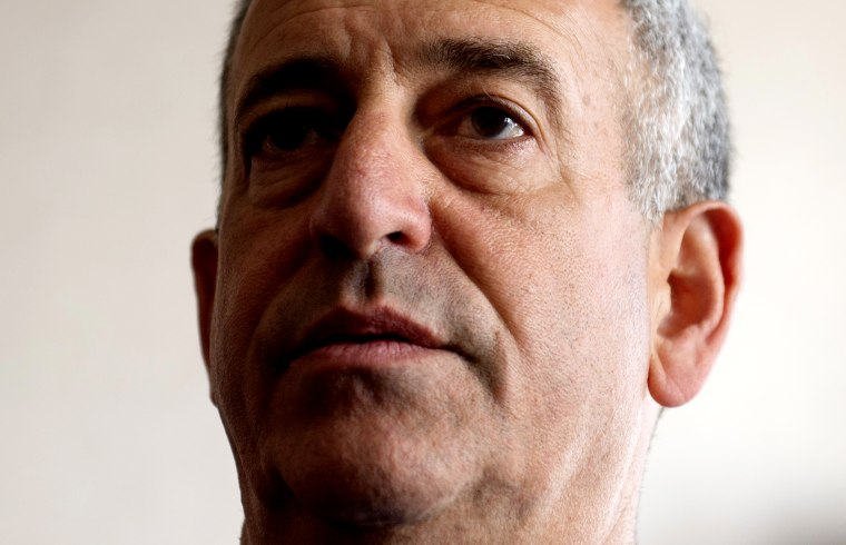 Russ Feingold, U.S. Special Envoy for the Great Lakes Region of Africa and the Democratic Republic of Congo, speaks during a news briefing at the Palais de la Nation in Kinshasa May 4, 2014. (Photo by Saul Loeb/Reuters)