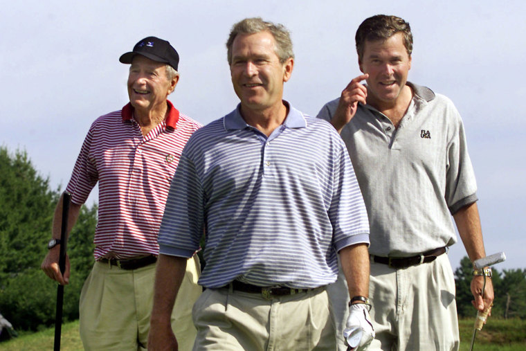 George W. Bush, Jeb Bush, George Bush