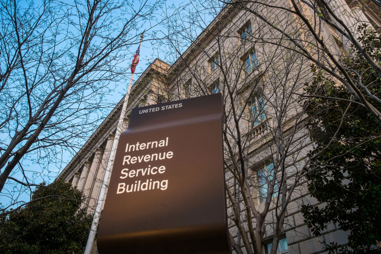 In this April 13, 2014 file photo, the Internal Revenue Service Headquarters (IRS) building is seen in Washington, D.C. (Photo by J. David Ake/AP)