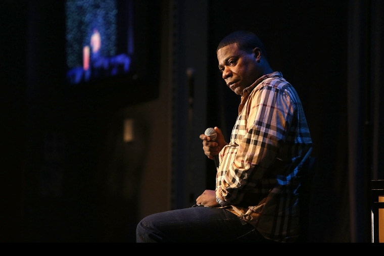 Tracy Morgan performs at Mount Airy Casino Resort, Feb. 1, 2014 in Mt. Pocono, Pennsylvania. (Photo by Bill McCay/Getty)
