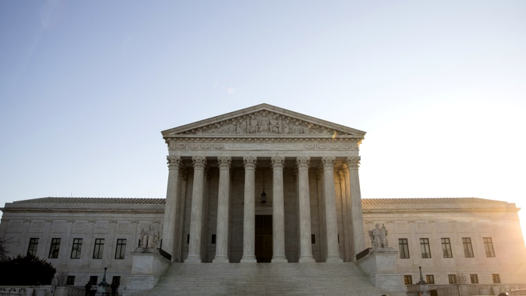 A view of the Supreme Court, Jan. 16, 2015 in Washington, DC. (Photo by Drew Angerer/Getty)