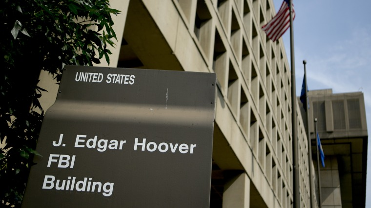The J. Edgar Hoover Federal Bureau of Investigation (FBI) building stands in Washington, D.C., Aug. 8, 2013. (Photo by Andrew Harrer/Bloomberg/Getty)