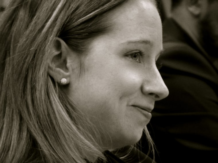 Katie Dowd,New Media Director at the U.S. Department of State, on a Foreign Press Center Tour, February 23, 2008