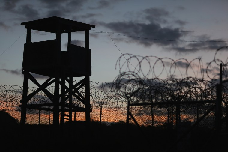A watch tower is seen in the currently closed Camp X-Ray which was the first detention facility to hold 'enemy combatants' at the U.S. Naval Station on June 27, 2013 in Guantanamo Bay, Cuba. (Photo by Joe Raedle/Getty)
