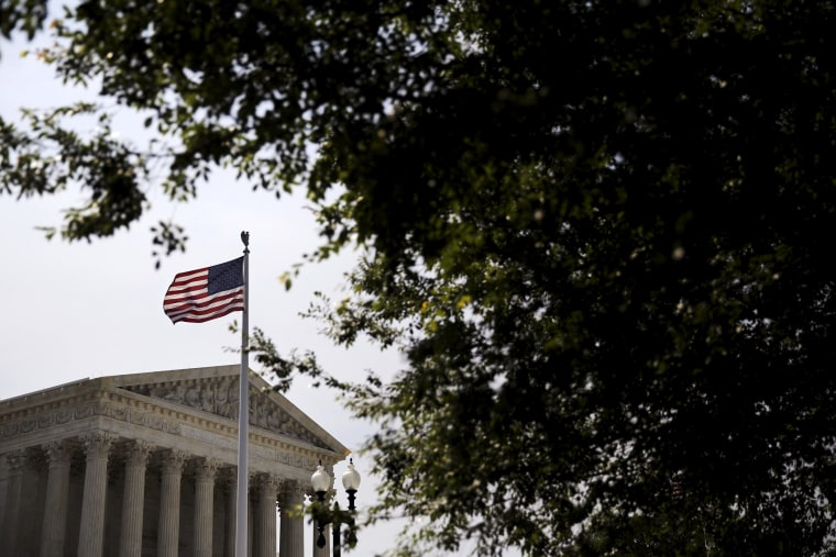 A general view of the U.S. Supreme Court building in Washington June 8, 2015. (Photo by Carlos Barria/Reuters)