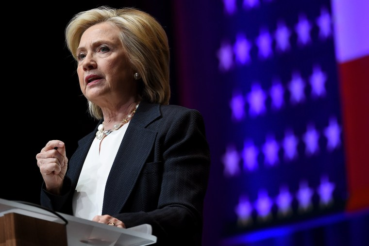 Democratic presidential candidate and former U.S. Secretary of State Hillary Clinton speaks in Las Vegas, Nev., on June 18, 2015. (Photo by Ethan Miller/Getty)