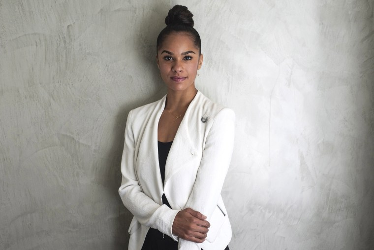 Ballerina Misty Copeland is photographed at the National Press Club Building on Sept. 17, 2014 in Washington, D.C. (Photo by Kris Connor/Getty)