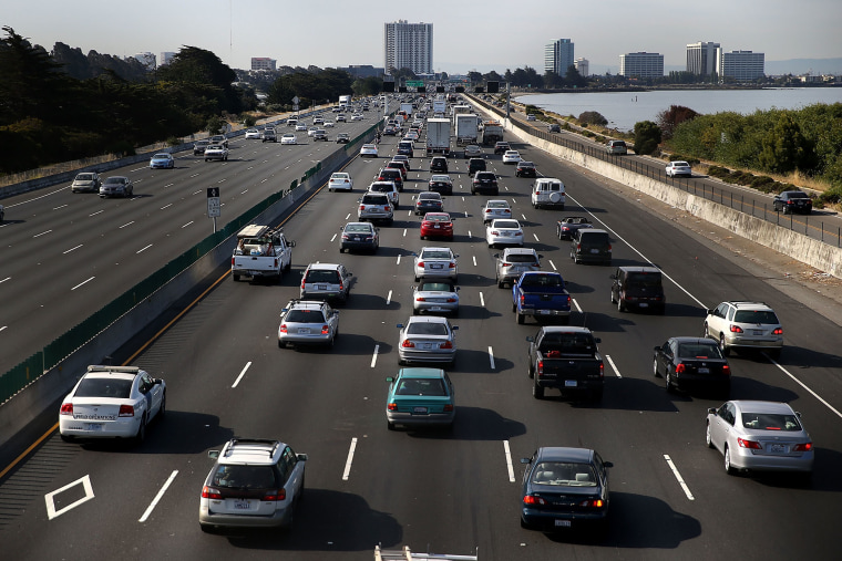 Travel during July 4th holiday weekend (Photo by Justin Sullivan/Getty).