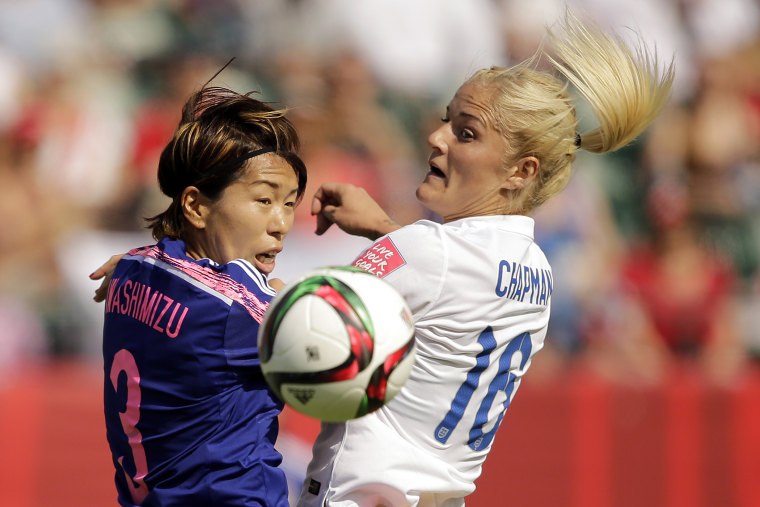 Soccer: Women's World Cup-England at Japan (Photo by  Erich Schlegel/USA Today Sports/Reuters).