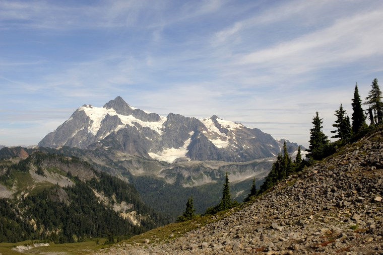 USA, Washington State, Mt. Baker - Snoqualmie National