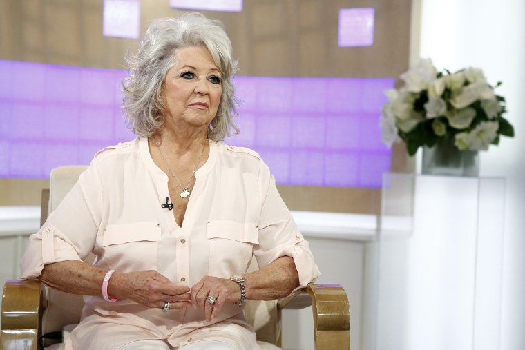 """Paula Deen appears on NBC News' \""""Today\"""" show. (Photo by Peter Kramer/NBC/NBC NewsWire/Getty)"""