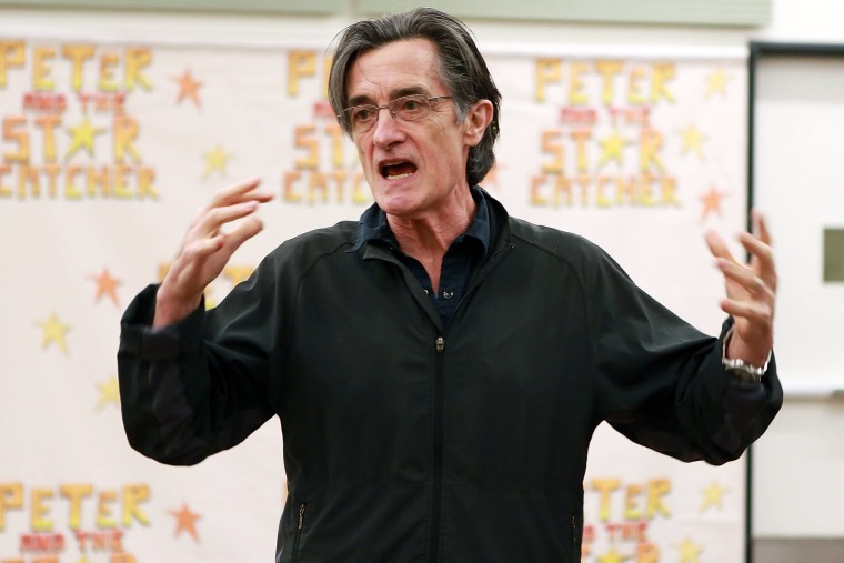 """Director Roger Rees attends \""""Peter And The Star Catcher\"""" Touring Cast Photo Call at The New 42nd Street Studios on July 25, 2013 in New York City. (Photo by Robin Marchant/Getty)"""