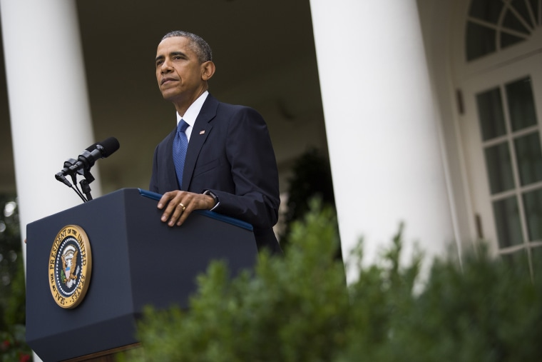 President Barack Obama delivers a statement in the Rose Garden of the White House, on June 26, 2015 in Washington, D.C. (Photo by Drew Angerer/Pool/Getty)