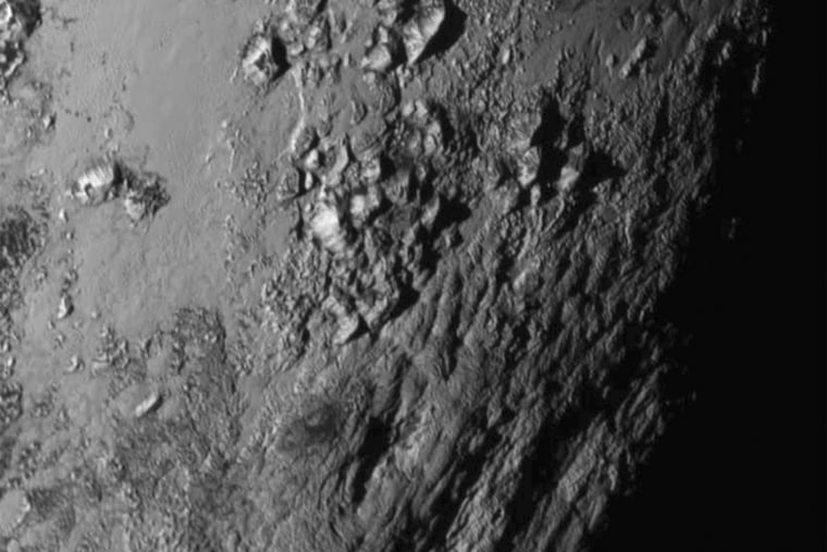 New close-up image of Pluto is released by NASA (Photo by NASA/Reuters).