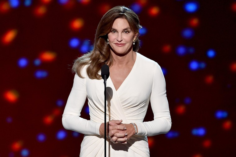 Honoree Caitlyn Jenner accepts the Arthur Ashe Courage Award onstage during The 2015 ESPYS at Microsoft Theater on July 15, 2015 in Los Angeles, Calif. (Photo by Kevin Winter/Getty)